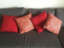 FREE: 4 x red cushions Newtown Inner Sydney Preview