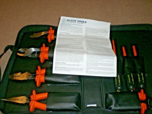 New Klein Tools 33529 Insulated Tool Set, 8 Pc w/ Carrying Case Free Ship 1000V