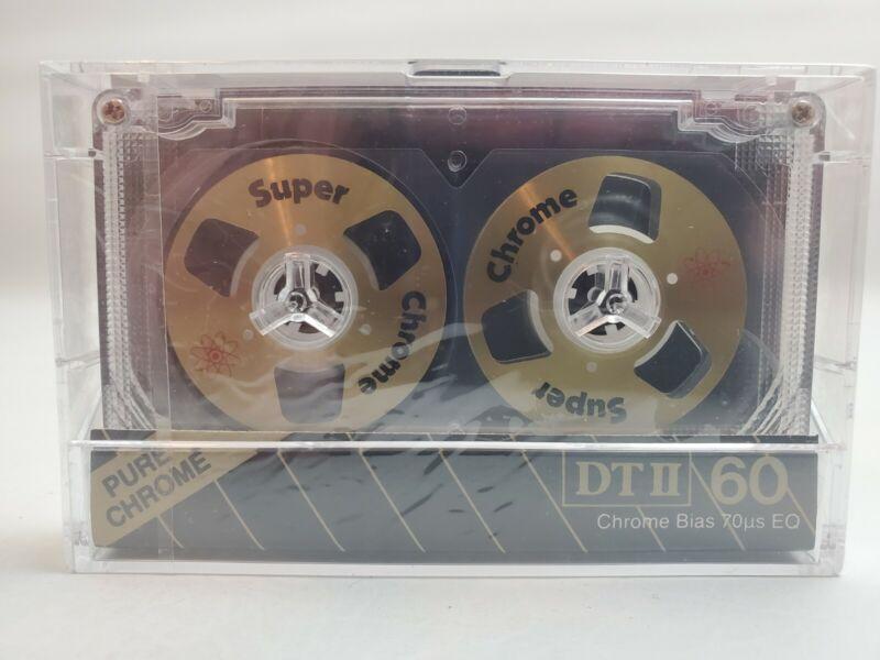 Vintage DIGITECH DTII Super Chrome Cassette Tape Type II 60min