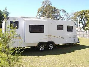 2010 Jayco Stirling 24 foot Slide-out Sandstone Point Caboolture Area Preview