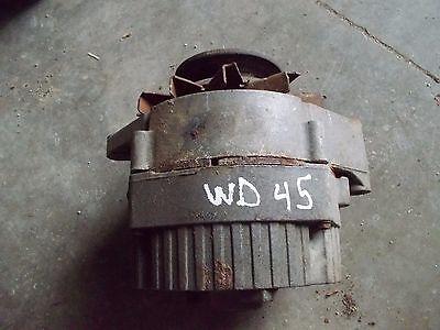 Allis Chalmers Wd Wd45 45 Ac Tractor 12v Alternator W Belt Pulley Ac