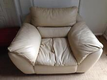 FREE leather Sofa 3 seat, 2 seat + chair Hornsby Heights Hornsby Area Preview