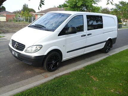 Mercedes Benz vito 2006 model w639 115 CDI turbocharged diesel. Lalor Whittlesea Area Preview