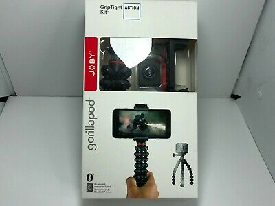Joby GripTight Smartphone / GoPro Action Camera Flexible Tripod Stand Kit