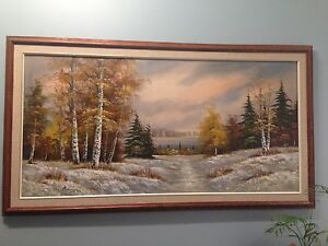 Painting - outdoor scenery