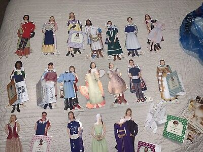 RARE Huge Lot American Girl Magazine Real Girls Paper Dolls Clothes Booklets Dog