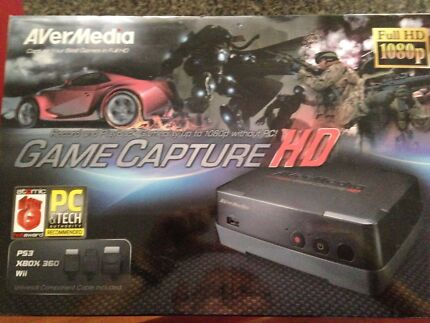 Game capture for PS3, Xbox 360 and Wii