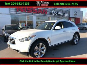 2012 Infiniti FX GORGEOUS AWD AND LOCAL TRADE!