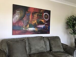 Original Signed Oil Painting on Canvas