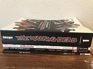 Comics! Buffy/Angel, Walking Dead