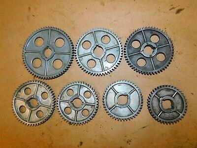 Atlas Craftsman Lathe Aluminum 34 Bore Change Gear Set 7 Pcs.