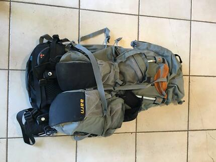 Backpack - ARRN Natural Balance & tote bag