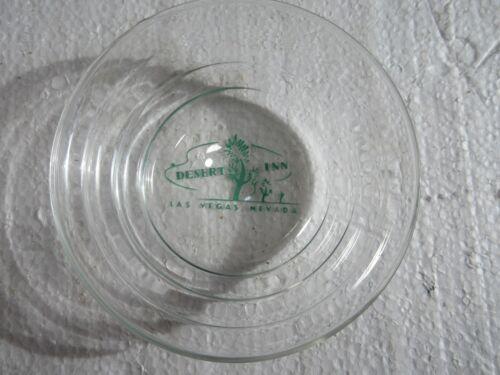 Vintage Desert Inn Hotel Casino Las Vegas Nevada Glass Ashtray Rare