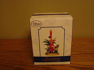 DISNEY Sketchbook Saludos Amigos Donald Christmas Holiday Ornament LE 1000 *NEW*