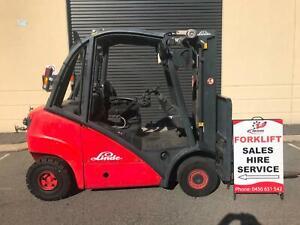 Unique Diesel Linde Forklift . 2.5 ton.Low hours. Finger tip controls