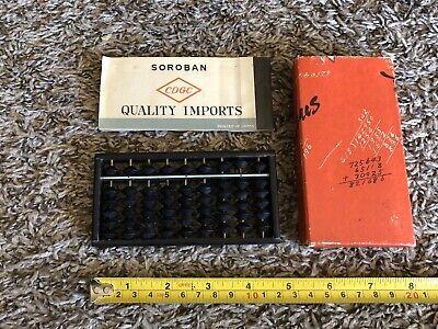 soroban abacus CDGC Guide Book And Box