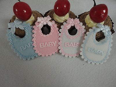 12 pcs square bib decoration for baby shower (FREE SHIPPING)](Decorations For Babyshower)
