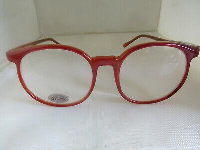 NOS Bonneau Vintage Reading Glasses Frames 1980's Amber Magna Optics 2.50 (1980 Glasses)