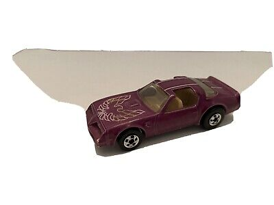 "Hot Wheels Color Racers Purple ""Hot Bird"" Blackwall"