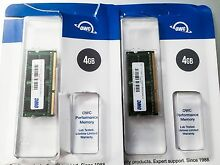 MAC 8.0GB (2 x 4.0GB) OWC PC8500 DDR3 1067MHz SO-DIMM 204 Pin RAM Narre Warren Casey Area Preview