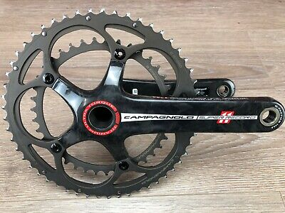 Good Campagnolo Record CT Crank Set 10 Speed 175mm 110mm BCD Ultra-Torque