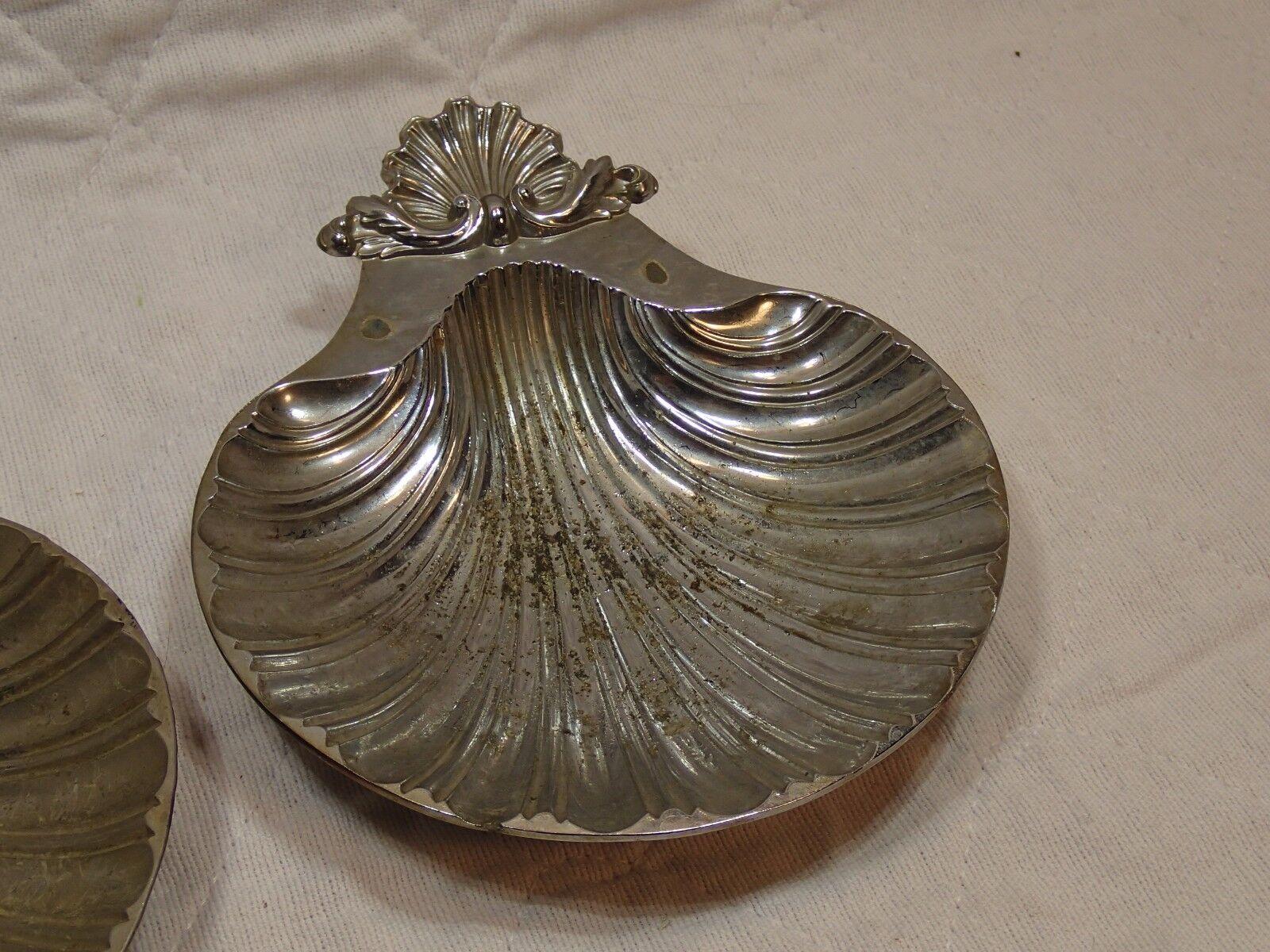 2 brass shell reproduction design sheffield england 1700 for Design reproduktion