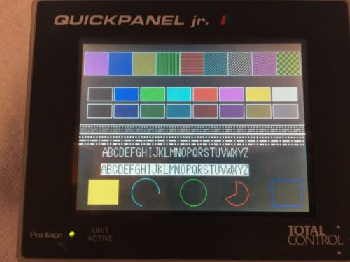 *EXCELLENT* TOTAL CONTROL QPK2D100S2P QUICKPANEL W/ WARRANTY Fully Working