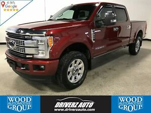 2017 Ford F-350 Platinum PLATINUM TRIM, DIESEL, ULTIMATE PACKAGE