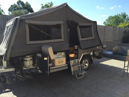 As New - GIC Camper Trailer - 2014 Model - Dominator FF Series Ryde Ryde Area Preview