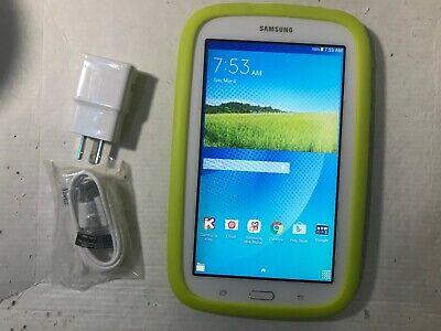 Samsung Galaxy Tab E Lite SM-T113 8GB, Wi-Fi, 7in - White (SM-T113NDWAXAR) Kids