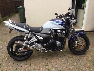 Suzuki gsx1400 motorcycle 2002 model