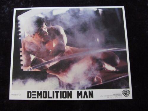 Demolition Man lobby cards : Sylvester Stallone, Sandra Bullock, Wesley Snipes
