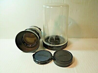 Nikon Nikkor-P 105mm F/2.5 Non AI Manual Focus Lens Working