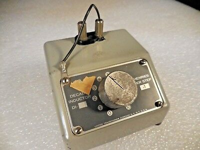 Utc United Transformer Co. Model Di-2 Inductance Decade 0.1 Henries Per Step