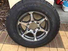 185R14  Set of three perfect trailer tyres Butler Wanneroo Area Preview