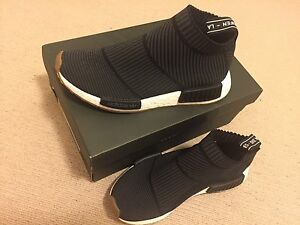 Adidas NMD CS1 Black Gum US6 City Sock Chatswood Willoughby Area Preview