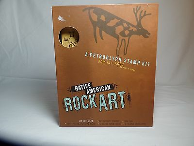 The Petroglyph Stamp Kit Native American Rock Art by Judith Dupre 1997 ()