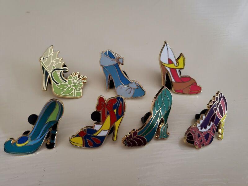 Disney PinPrincess High Heels ShoesSet of 7