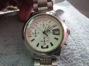 for sale*******AN OLD RARE TIME FORCE CHRONOGRAPH QUARTZ*******wrist watch