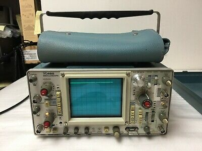 Tektronix 465 Analog Oscilloscope Power On As Is