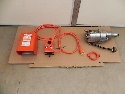 Ridgid 535 Motor 115v. With Fwdrev Switch And Foot Switch For 535 Early Style