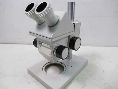 Zeiss Aus Jena Gsz Stereo Microscope Binocular German Lab Unit W Stand