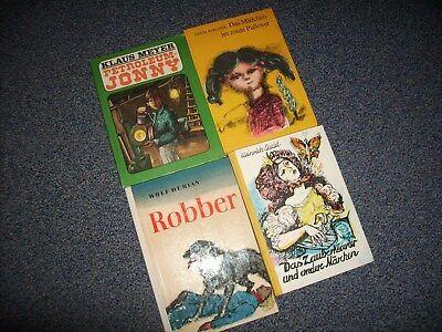 Buch, 4 Bücher, DDR, Petroleum-Jonny,Robber, Das Zauberklavier, u.a. (Klavier, Literatur, Buch 4)