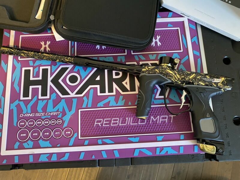 Dye M3+ Paintball Gun Electronic Speedball Tournament Marker Spent PGA
