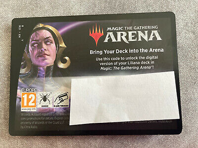 Magic the Gathering Liliana, Death Mage M21 Planeswalker Deck Code for MTG Arena