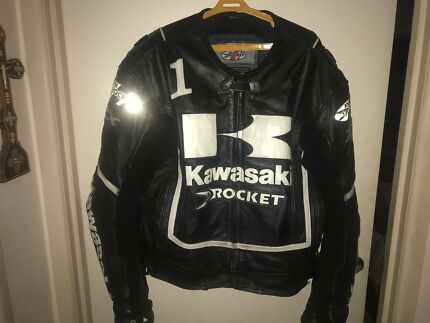 Rocket leather jacket