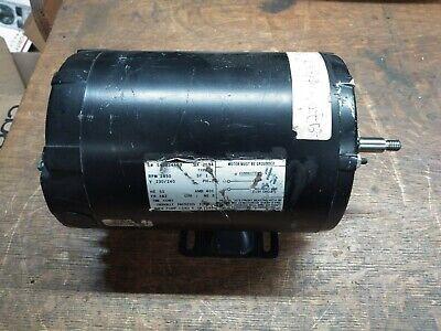 Ao Smith 34hp Electric Motor 230240vac Single Phase 2850rpm 3420rpm Fr 48z