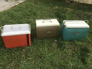 3 x Vintage Malleys Esky Cooler Stanhope Gardens Blacktown Area Preview