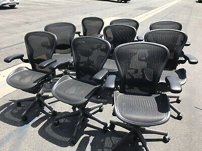 Herman Miller Aeron Chair Size B - Excellent Condition