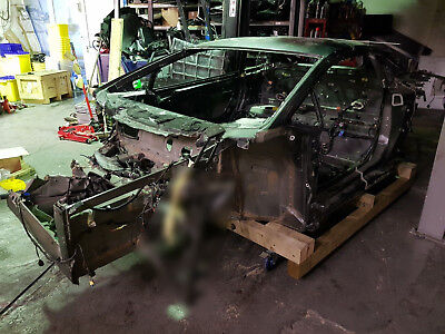 Lamborghini Lambo Huracan Full Body Shell Chassis Leg Sub Frame Damaged Salvage